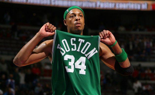 Le maillot de Paul Pierce sera retiré cette saison par les Boston Celtics