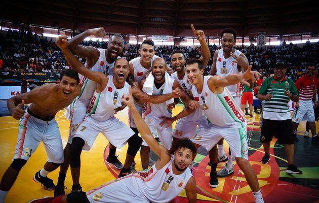 Afrobasket 2017 : Le Maroc reste invaincu et croisera l'Égypte en quarts de finale à Tunis