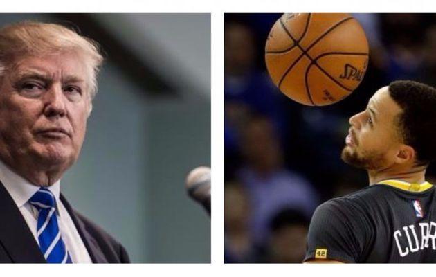 Donald Trump réagit aux déclas de Stephen Curry et refuse de recevoir les Warriors à la Maison Blanche !