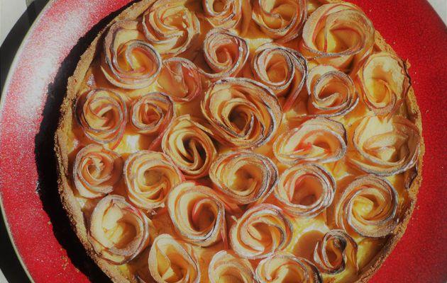 Tarte aux pommes et fève de tonka