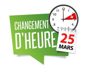 Attention changement d'heure