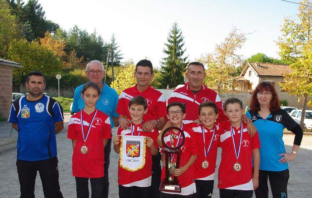 Qualification aux Championnats National des Clubs de Jeunes. Région Midi-Pyrénées.