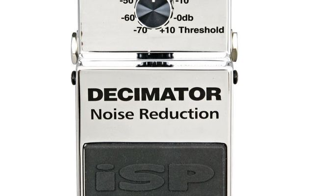 Test : pédale de Noise-Gate ISP DECIMATOR