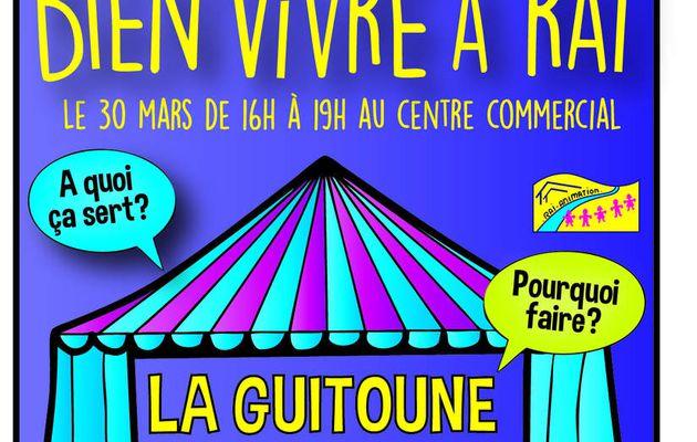 La Guitoune à Blabla jeudi 30 mars 2017 de 16h à 19h à Rai