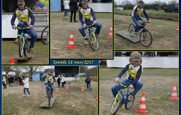 Animation cyclo en ville du Lude