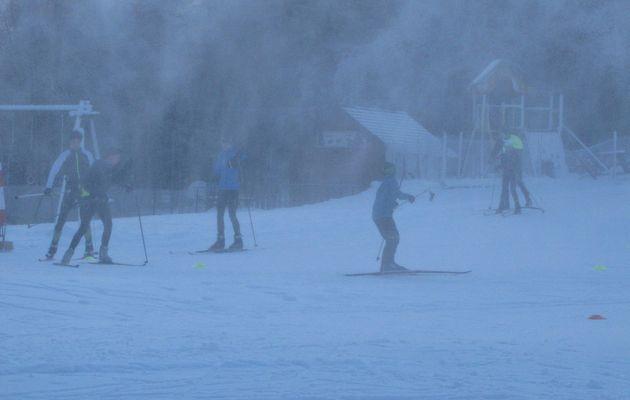 Ski made in Chartreuse à La Diat le 04/01/17