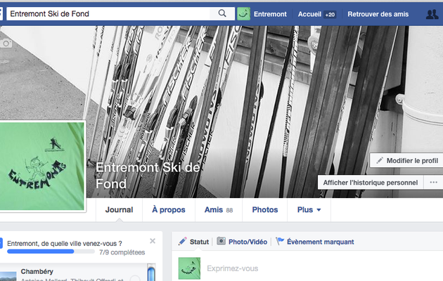 Facebook de la section des Entremonts le 05/07/17