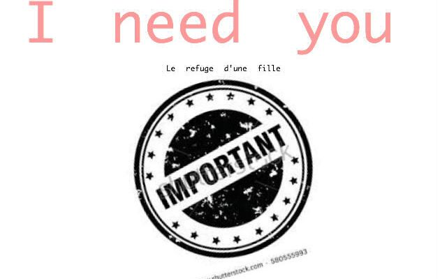 NEED OF YOU