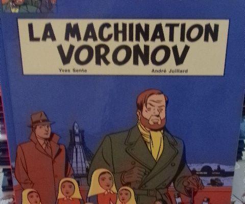 B.D. Les aventures de Blake et Mortimer Tome 14 La Machination Vornov
