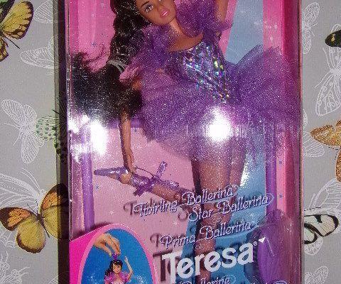RARE Poupée Barbie Brune Ballerine danseuse Teresa