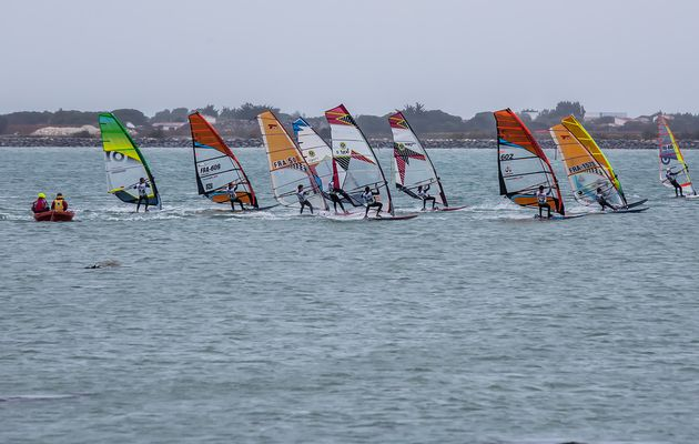 Funcup 2017 à La couarde: Windsurfing in the rain