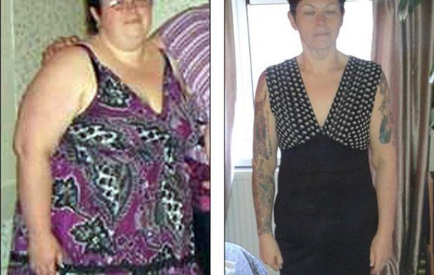 Mère de 37 ans surpoids commence l'exercice et des années plus tard ...