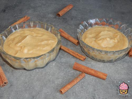 Compote pomme/miel/cannelle.