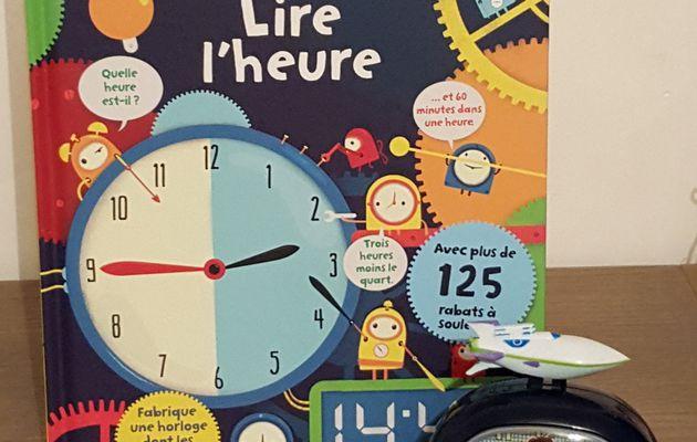 Lire l'heure, Editions Usborne