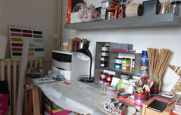 Mon atelier...