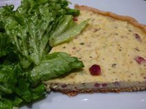 Quiche ricotta jambon/lardon ( au pizza cook)