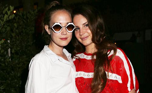 Lana Del Rey à la fête organisée par Galore Magazine à Los Angeles, Etats-Unis. (30.06.2017)