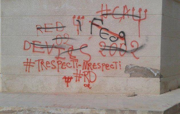 Réflexions sur les tags muraux dans la ville. Meher Bel Hadj Ali. (Les Embêtés ont du talent)