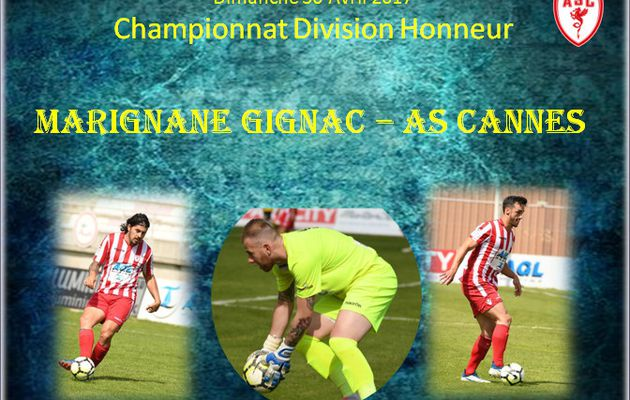 Championnat : Marignane -As Cannes