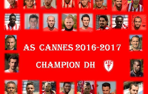 As CANNES  Champion DH 2016-2017