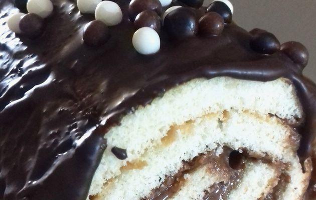 Roulé au chocolat  ( Partenariat Trésors de Chefs )