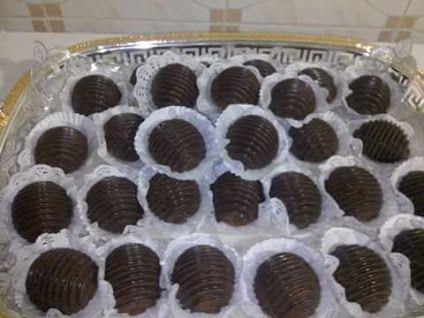 escargot chocolat noir