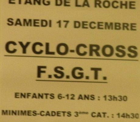 Cyclo cross saint potan