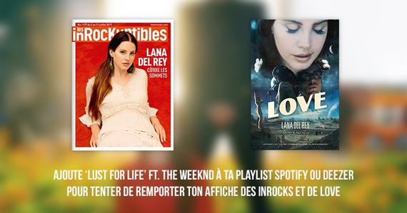Gagnez des cadeaux grâce à Polydor et Lana-Del-Rey.fr