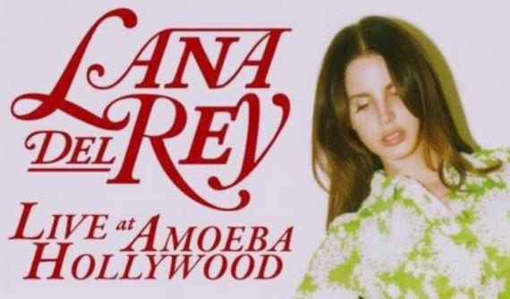 Lana Del Rey sera en dédicace au magasin Amoeba