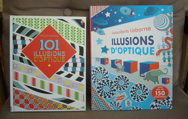 Les illusions d'optique avec les Editions Usborne