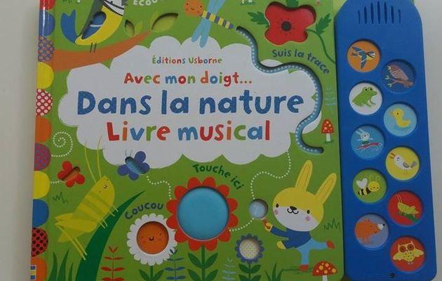 Livre musical aux éditions Usborne pour les tout-petits !