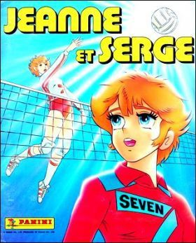 Jeanne et Serge - Stickers panini - 1989 - COMPLET