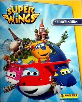 Super Wings - Stickers panini - 2017