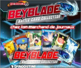 Beyblade - Battle Card collection - 2011