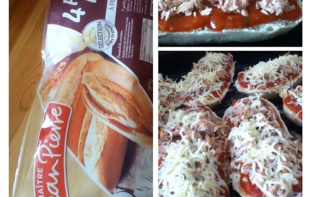 Petite pizza facile