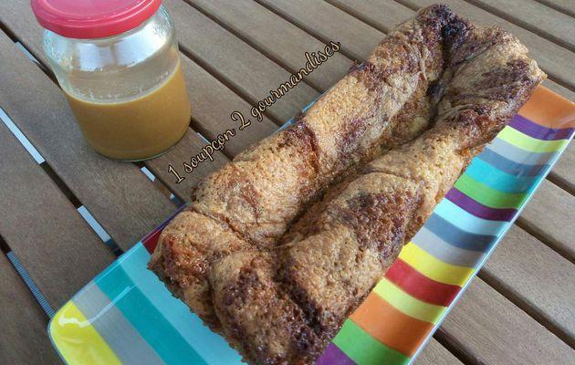 Cake Marbré au Caramel