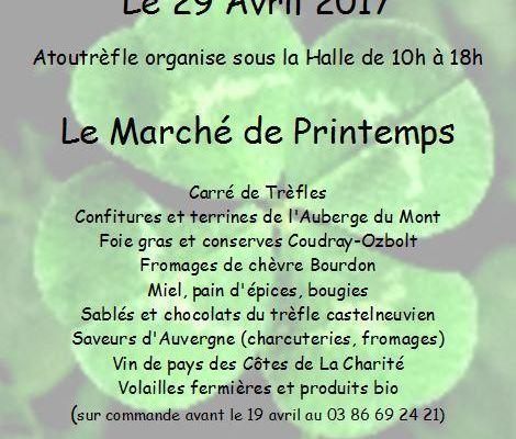 Marché de Printemps - 29 avril 2017