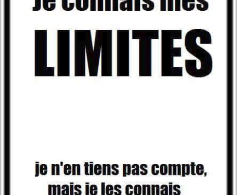 Limites connues