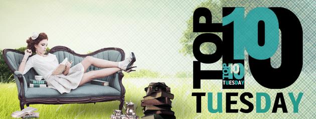 Top Ten Tuesday #36 — Les 10 auteurs dont vous ne relirez plus de romans d'eux