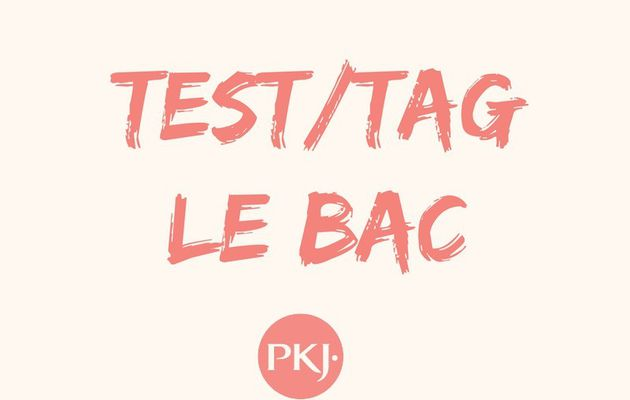 Le Tag du Bac, par Pocket Jeunesse