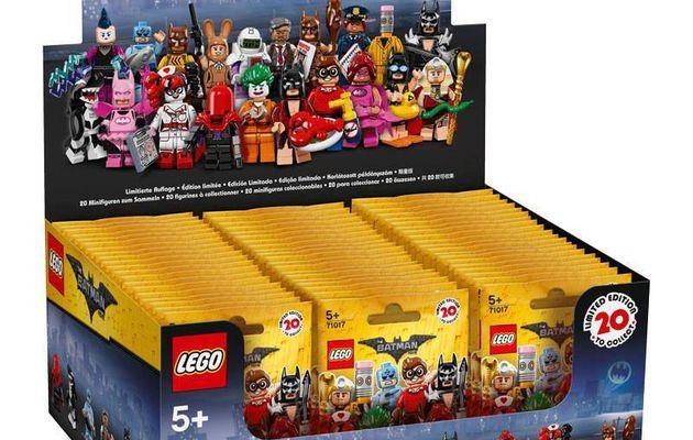 Minifigures Serie Batman The Movie incomplete 09/20