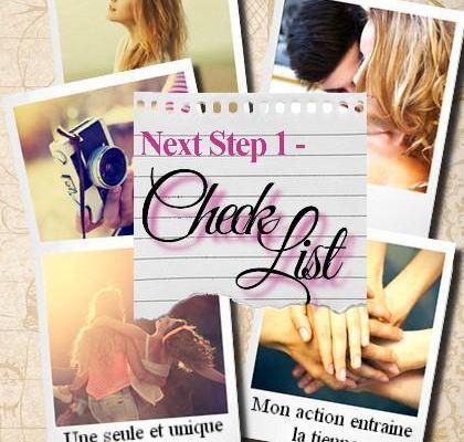 Chronique sur Next step1- Check list