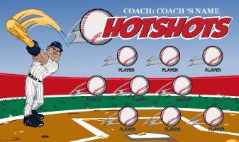 Auto Custom Baseball Banners Online Easy