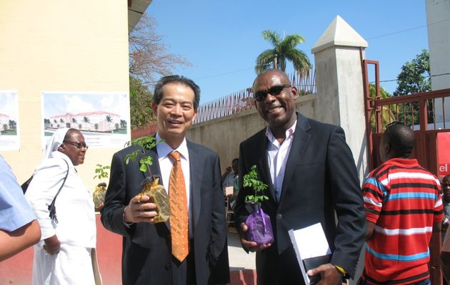 Cayes, coopération Haïti-Taïwan et travaux agricoles post –Matthew