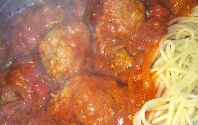 Boulettes en sauce à l'Italienne