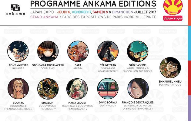 JAPAN EXPO: J-5 ANKAMA EDITIONS