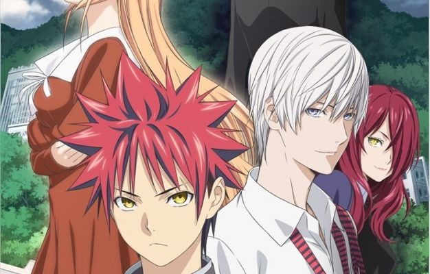 LA SAISON 3 DE L'ANIME FOOD WARS ARRIVE !