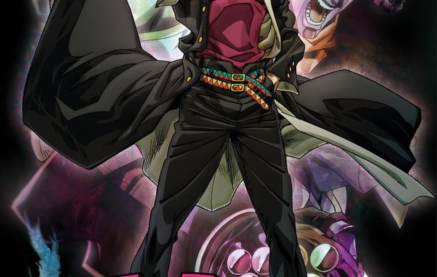 JOJO'S BIZARRE ADVENTURE STARDUST CRUSADERS DISPONIBLE SUR ADN