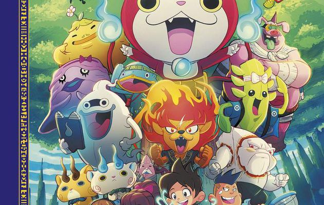 YOKAI WATCH ARRIVE EN BD !