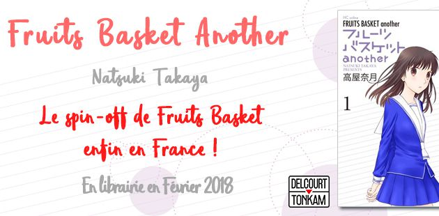 FRUIT BASKET ANOTHER LE SPIN OFF ! + D'INFOS
